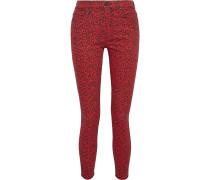 Good Leopard-print High-rise Skinny Jeans