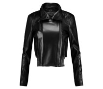 Connix Leather Jacket Schwarz
