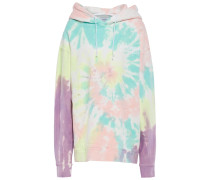 Tie-dyed French Cotton-terry Hoodie