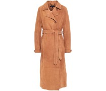Tiree Suede Trench Coat