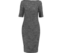 Cotton-blend Jacquard Dress Schwarz