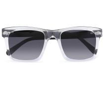 Square-frame Two-tone Acetate Gradient Sunglasses