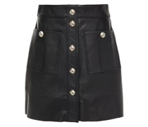 Jeate Leather Mini Skirt