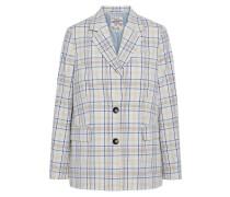 Brianna Checked Cotton-blend Blazer