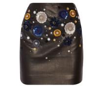 Linard embellished leather mini skirt