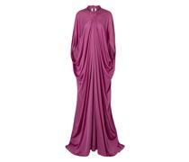Drapierte Robe aus Seiden-jersey