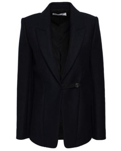 Wool-blend Twill Blazer Navy