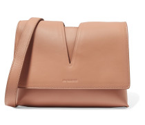 Cutout Leather Shoulder Bag Puder