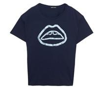 Alyssa T-shirt aus Baumwoll-jersey mit Metallic-print