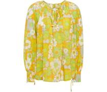 Loretta Bluse aus Baumwolle mit Floralem Print