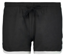 Jersey Shorts Schwarz