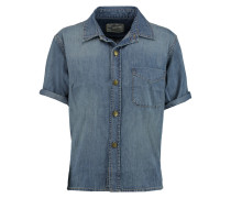The Costa Denim Shirt Mittelblauer Denim