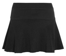 Pipa Perforated Scuba-jersey Mini Skirt Schwarz