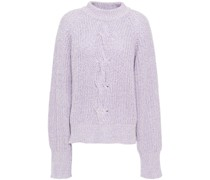 Carreen Cable-knit Cotton-blend Sweater