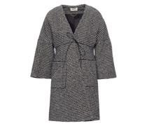 Cotton-blend Tweed Coat