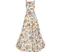 Caroline Floral Jacquard Gown Mehrfarbig