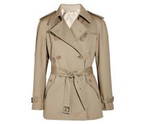 Cotton Trench Jacket Beige