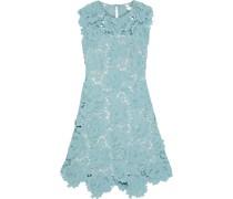 Fjola Guipure Lace Mini Dress