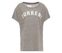 Beflocktes T-shirt aus Stretch-jersey