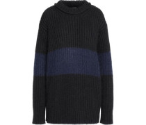 Rosie ribbed mohair-blend sweater