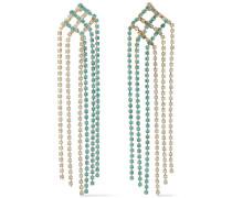 Oasis -tone Crystal Earrings
