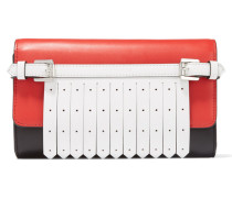 Mayfair Leather Clutch Rot
