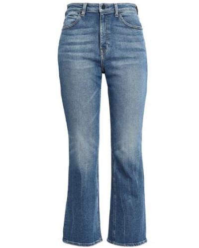 Grind High-rise Bootcut Jeans Mid Denim  6