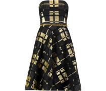 Lamé jacquard mini dress