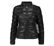 Quilted Shell Down Jacket Schwarz