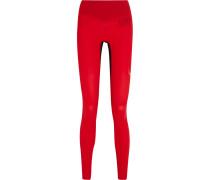 Core Performance Stretch Leggings Rot