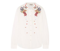 Amity embroidered cotton shirt