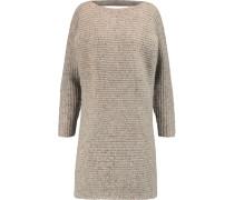 Bass Merino Wool-blend Mini Dress Stein