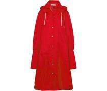 Oversized Hooded Shell Raincoat
