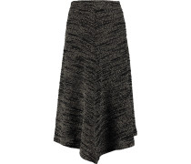 Lasu Knitted Midi Skirt Schwarz