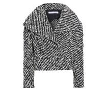 Huddle Cropped Jacke aus Bouclé-tweed