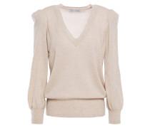 Gathered Cashmere Sweater