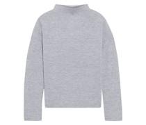 Aviva Melierter Pullover aus Wolle