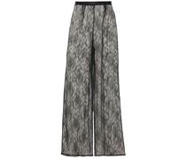 Darling Row Pyjama-hose aus Leavers-spitze aus Einer Seidenmischung