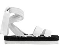 Ambra leather espadrille sandals