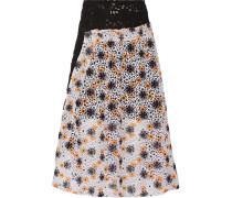 Kate Macramé Lace Skirt Flieder