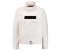 Cotton-twill Jacket Ecru
