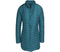Elare Quilted Shell Down Jacket Petrol