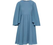 Draped Crepe Dress