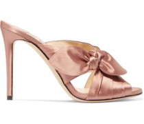 Keely knotted satin mules