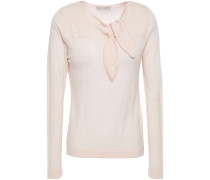 Knotted Cashmere Top