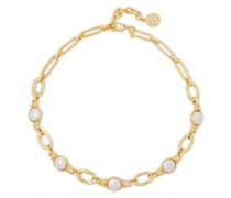 -tone Faux Pearl Necklace