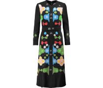 Counter Embellished Cady Midi Dress Schwarz