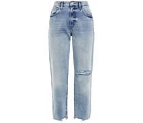 The Original Ankle Boyfriend-jeans in Distressed-optik