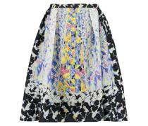 Textured Silk-blend Skirt Mehrfarbig