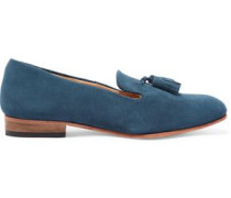 Gaston suede loafers